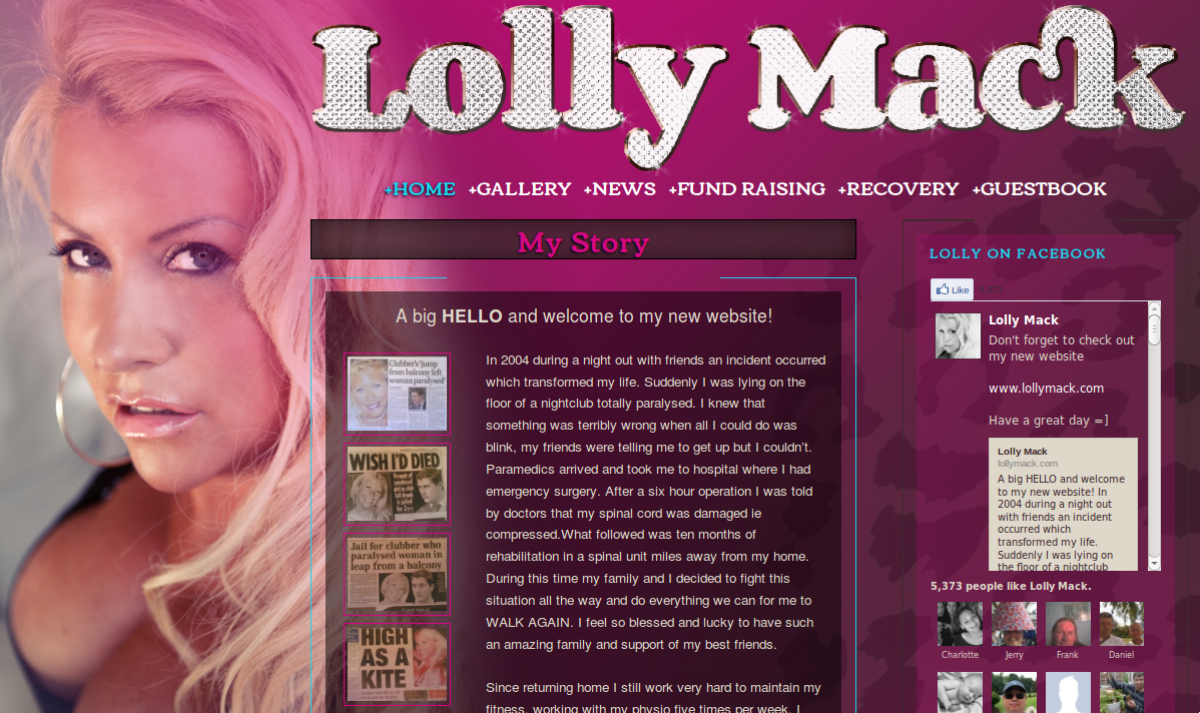 Lolly Mack home page